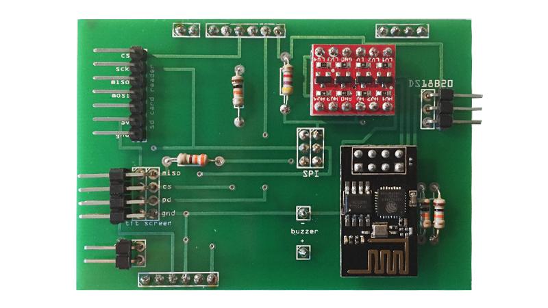 esp8266 pcb shield arduino